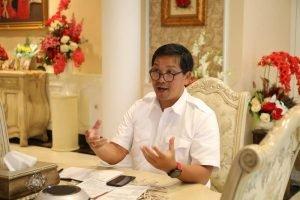 Jadi Pengantar Diskusi Webinar Pilkada Aman Covid-19, Wagub Kandouw : Sulut Optimis Siap Laksanakan Pilkada