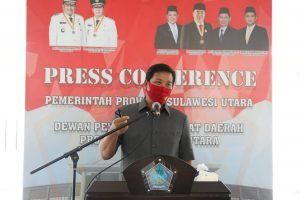 Hadiri Rapat Paripurna DPRD Sulut, Wagub Kandouw Jelaskan Ranperda APBD 2019