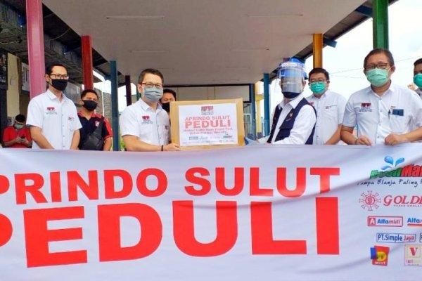 Terima Bantuan 1000 Alat Rapid Tes dari APRINDO, GSVL: Semoga Bantuan Ini Bisa Digunakan Petugas Medis