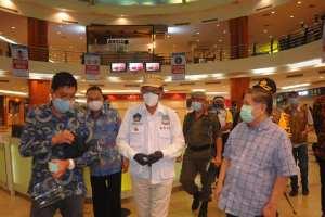 Tinjau Mantos, Ini Penjelasan Walikota GSVL Terkait Tahapan dan syarat Pembukaan Mall