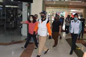 Setelah Mantos, Sore tadi Walikota GSVL Kunjungi Kawasan Mega Mall Manado
