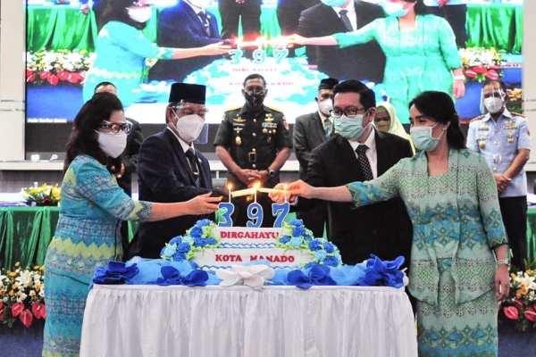 Walikota GSVL : Puji Syukur Penyertaan Tuhan Dalam Perjalanan Kota Manado Hingga Mencapai Usia ke 397 Tahun