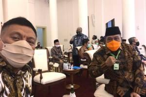 Gubernur Olly Rapat Bersama Presiden Jokowi, Bahas Percepatan Penyerapan APBD