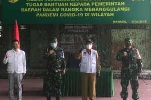Gladi Posko I Dimulai, Walikota GSVL Sebut TNI Bantu Edukasi Masyarakat untuk Disiplin
