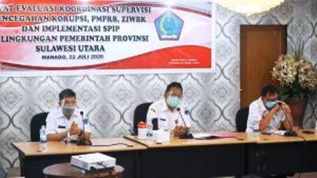 Dukung Pelaksanaan Reformasi Birokrasi dan Zona Integritas, Silangen Pimpin Rapat PMPRB, Korsupgah dan ZIWBK serta Sosialisasi SPIP