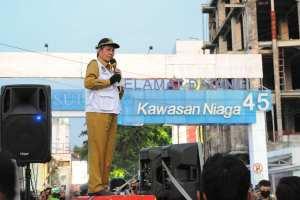 Covid19 Belum Berakhir, Walikota GSVL Bersama TNI Polri Sosialisasi Adaptasi Kebiasaan Baru di Kota Manado
