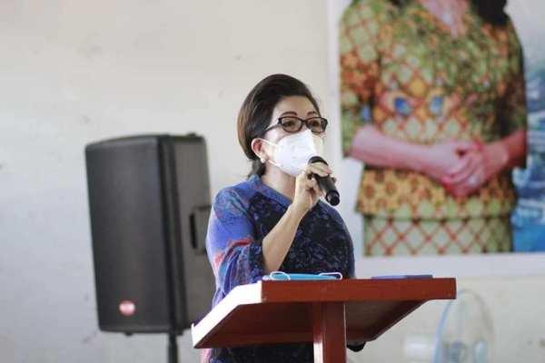 Ketua TP PKK Kota Manado : Ayo Ibu-Ibu Jangan Lelah Menerapkan dan Memberikan Contoh Gaya Hidup Sehat dan Bersih