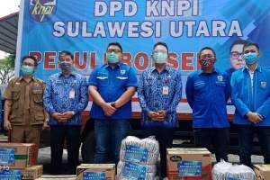 KORPRI-KNPI Sulut Kirim Bantuan untuk Korban Bencana Bolsel-Bolmong