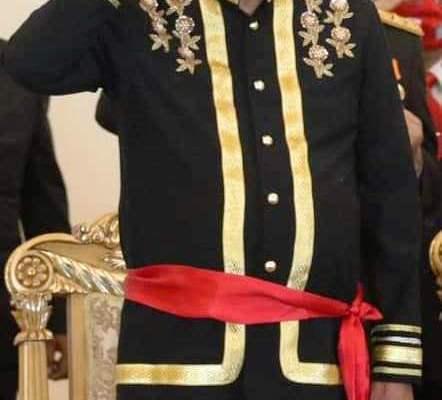 Pakai Pakaian Adat, Gubernur Olly Ikuti Upacara Detik-detik Proklamasi di Istana Merdeka Secara Virtual