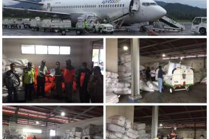 Pemprov Sulut Siapkan Bantuan Tahap Dua, BNPB Kirim Logistik Untuk Korban Bencana di Bolsel