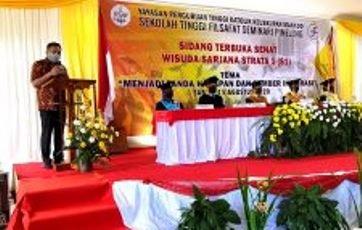 Gubernur Olly Ajak Wisudawan Wisudawati STFSP Dukung Program Pembangunan Sulut