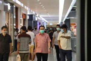 Pjs Fatoni Turun Langsung Pantau Penerapan Protokol Kesehatan di Pusat Keramaian