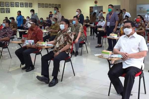 Ikuti Tahapan KPU, MOR-HJP Periksa Kesehatan