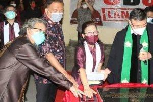 Gubernur Olly Resmikan Gedung GMIM Kanaan Mapanget