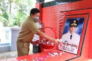 Peringati HUT ke-56 Sulut, Wagub Kandouw Ziarah Ke Makam Mantan Gubernur dan Wakil Gubernur Sulut
