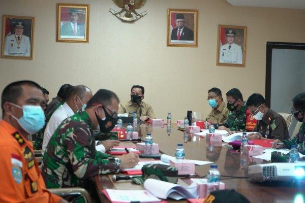 Pjs Gubernur Agus Fatoni Bahas Persiapan Pilkada Serentak 2020 Bersama Forkopimda
