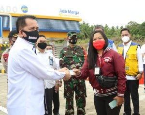 2 Minggu Gratis, Pjs Gubernur Fatoni Resmi Buka Operasional Jalan Tol Manado-Bitung