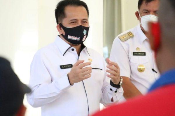 Pjs Bupati Minsel Temui Pjs Gubernur Sulut, Ini Yang Dibicarakan