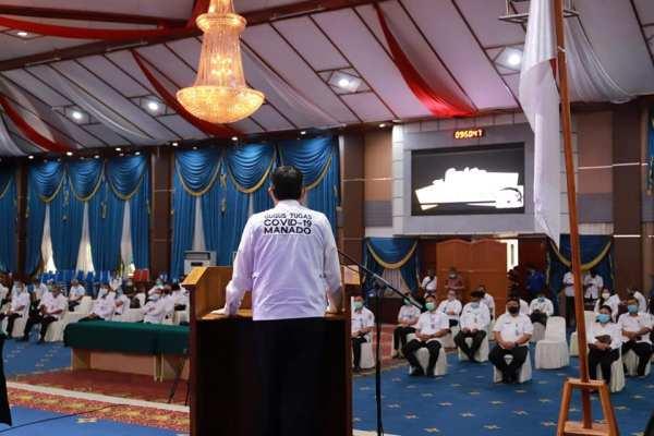 Pemkot Bersama Banwaslu Kota Manado Gelar Sosialisasi Pilkada 2020 dan Penandatanganan Pakta Integritas Netralitas ASN