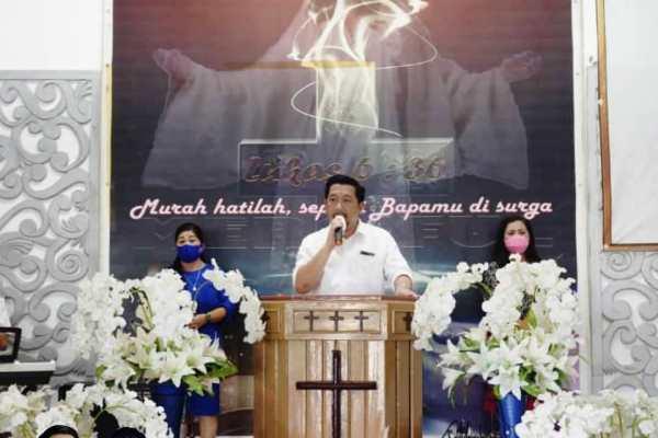 Hadiri Fellowship GPDI Mapanget, Mor Minta Bantuan Doa Agar Sehat dan Kuat