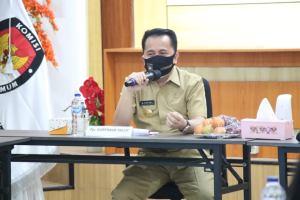 Pjs. Gubernur Sulut Fatoni: Debat Pilkada Sulut Difokuskan pada Peran Kepala Daerah Dalam Menangani COVID-19 dan Dampak Sosial Ekonomi