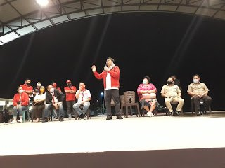 Cawagub Steven Kandouw: Tomohon Ingin Ada Perubahan Pilih ODSK dan CSWL