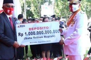 HEBAT Olly Dondokambey, Dana 1 Triliun BPE di Bank SulutGo Sudah Tersalurkan Rp 400 M Lebih