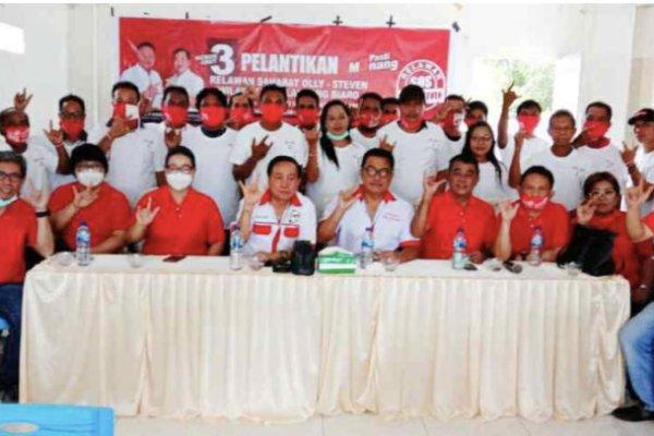 Relawan ODSK Karamando di Tagulandang – Biaro Siap Menangkan Olly – Steven di Pilgub Mendatang