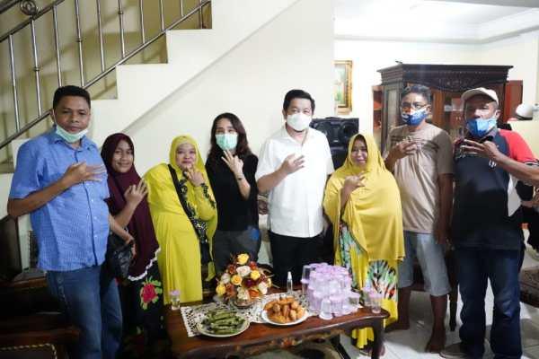 Bersama Ayub Ali Albugis, MOR Bersilaturahmi Dengan Warga Tuminting