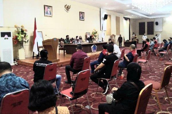 Pemprov Gelar Audiensi dengan KSBSI, Perwakilan Buruh Sampaikan Pernyataan Sikap Secara Tertulis