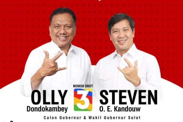 "LSI: Pemilih dari Golkar dan Nasdem pun Akui Olly-Steven ""Sulit Dikalahkan"""