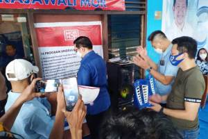 Rindu Warga Terobati, MOR Berikan Suport Sekaligus Resmikan Sekertariat Tim Rajawali Banjer