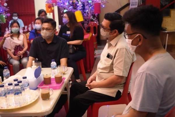 Hadiri Festival Mooncake, MOR-HJP Berbaur Bersama di Dua Tempat Ibadah Tri Dharma