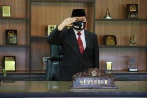 Pjs Gubernur Fatoni Ikuti Upacara Hari Kesaktian Pancasila Secara Virtual