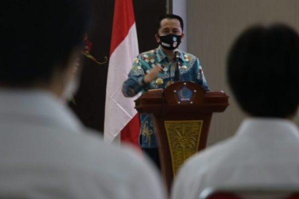 Pjs Gubernur Fatoni Bersama Forkopimda Lepas 28 Calon Praja IPDN ke Jatinangor