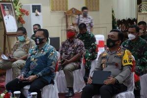 Dipimpin Menkopolhukam, Pjs Gubernur Fatoni Ikuti Rakor Anev Pelaksanaan Kampanye Pilkada Serentak 2020