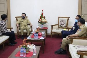 Pjs Gubernur Fatoni Terima Audiensi Kepala Perwakilan BI Sulut