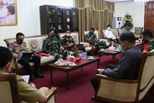Jelang Pilkada Serentak, Pjs Gubernur Fatoni Bersama Forkopimda Perkuat Sinergitas Penanganan C-19