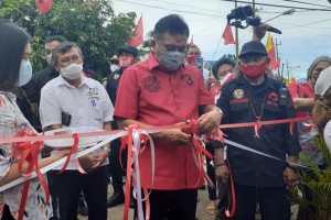 Kembangkan Pariwisata di Tanawangko, Olly Janjikan Perlebar Jalan