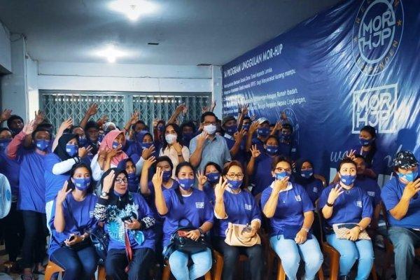 Resmi Dilantik , Relawan Independen Wenang, MOR-HJP Targetkan Menang 50 Persen Lebih