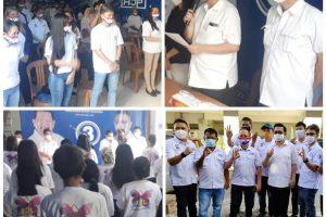 MOR Lantik 3 Tim Milenial, Saraun: Target 10 Ribu Suara untuk MOR-HJP