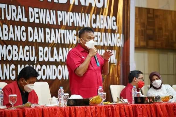 SK Ajak Yasti-Tatong Gabung PDI Perjuangan