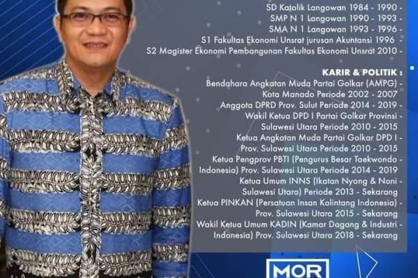 HJP Dinilai Lebih Briliant dan Diprediksi Bakal Unggul, Siang Ini Debat Cawawali Manado