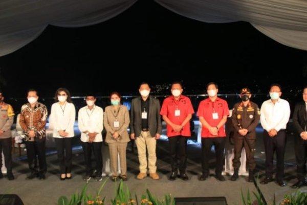 Pjs Gubernur Fatoni Apresiasi KPU Usung Tema Penanganan C-19 di Debat Pilkada Sulut