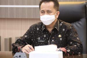 Dipimpin Menkopolhukam, Pjs Gubernur Fatoni Ikuti Rakor Anev Pelaksanaan Tahapan Kampanye Pilkada Serentak 2020
