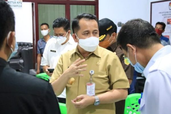 Jelang Pilkada, Pjs Gubernur Fatoni Bersama Forkopimda Cek Kesiapan KPU dan Bawaslu Kotamobagu