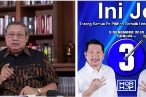 Presiden ke-6 RI Ini Berharap MOR-HJP Diijinkan Tuhan Memimpin Kota Manado, SBY Titip 3 Pesan Penting
