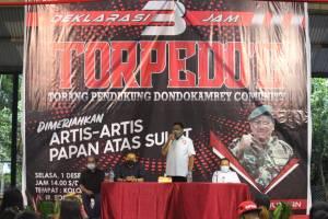 Relawan Torpedo Deklarasi Dukung Olly-Steven