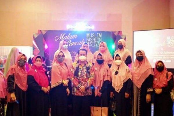 Akhiri Masa Tugas, Pjs Gubernur Fatoni Hadiri Muslim Fashion Festival