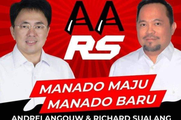 AA-RS Unggul Dari Pasangan Lain Sesuai Data Desk Pemkot Manado